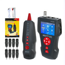 Noyafa NF-8601W Cable Line Network Wire Tester Finder LCD RJ45 RJ11 PING/POE LAN