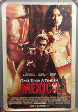 """Original 2003 Once Upon A Time In Mexico Movie Poster 27"""" x 40"""" (MFPO-09)"""