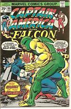 Captain America # 188 Aug 1975 Marvel The Falcon