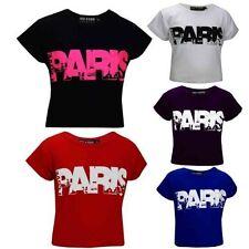 Vêtements T-shirt col rond pour fille de 13 à 14 ans