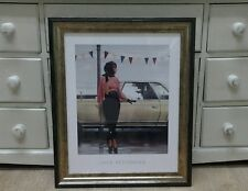 Suddenly One Summer by Jack Vettriano Large Deluxe Framed Art Print Romantic