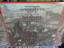 "Mendelssohn Symphony no 5 ""Scotch"" Hebrides Overture Klemperer Philharmonia LP"