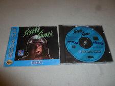 SEGA CD SYSTEM VIDEO GAME SEWER SHARK W MANUAL CDX JVC X EYE