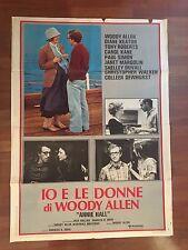 MANIFESTO 2F IO & ANNIE (IO E LE DONNE) Annie Hall, WOODY ALLEN Diane Keaton