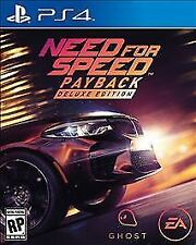 Need for Speed Payback: Deluxe Edition Sony PlayStation 4 New & Factory Sealed