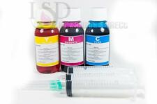3x4oz Premium Color Refill ink for Canon CL-211 XL ip2700 ip2702