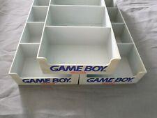 3x Nintendo Gameboy Schuber in grau / für Vitrine/ Vitrinenschuber / Case / Tray