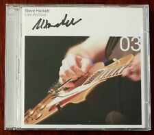 Steve Hackett ‎– Live Archive 03 2xCD – Signed – Genesis – CAMCD33 – Mint