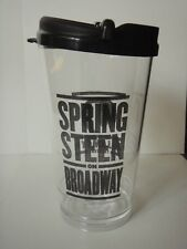 Bruce Springsteen on Broadway travel cup with lid, 2018, Broadway souvenir