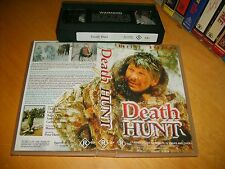 DEATH HUNT (1981) - Mega Rare Australian VHS Edition - Cult Action Crime Drama