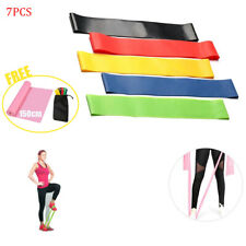 Heavy Duty Resistance Bands Set 6 Loop for Gym Exercise Pull up Fitness Workout