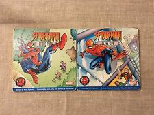 Spider-Man Hardcover Book Lot of 2 Childrens Learning Lift the Flaps Book Marvel