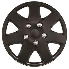 Streetwize Tempest 15 Inch Wheel Trim Set Matt Black Set of 4 Hub Caps Covers
