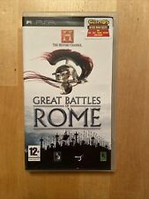 The History Channel: Great Battles of Rome (Sony PSP, 2010)