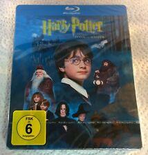Harry Potter Und der Stein der Weisen (2011, Germany, Region Free) Steelbook NEW