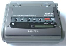 SONY EVO-220 VIDEO8 8MM HIFI STEREO MICRO VCR WK GREAT FOR VIDEO TRANSFER TO DVD