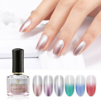 BORN PRETTY 6ml Thermal Nagellack Temperature Color Changing Nail Art Maniküre
