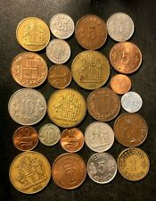 OLD ICELAND COIN LOT - 1940-Present - 23 Low Mintage Coins - Lot #N19
