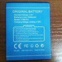 Original Doogee Y100 Pro 2200mAh Battery For DOOGEE Valencia 2 Y100 Pro Phone