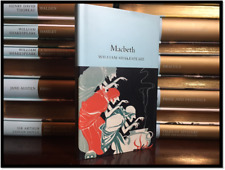 Macbeth by William Shakespeare Illustrated New Deluxe Cloth Bound Collectible