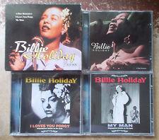 BILLIE HOLIDAY 3 CD BOX SET ~ A Fine Romance, I Loves You Porgy & My Man