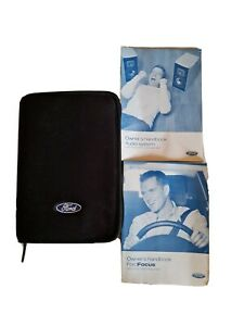 Ford Focus Case Wallet Book Pack Document 2005-2010 MK2 05-10 Owners Handbook