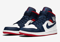 "In Hand Nike Air Jordan 1 Mid SE ""USA"" Mens & GS Free Shipping"