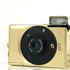 Canon IXUS IXY Gold 60th Anniversary Limited Edition APS camera Japan (KC)