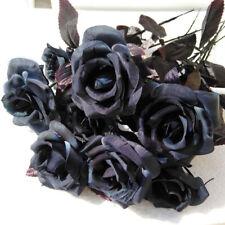 1Pc Artificial Flowers Fake Bouquet Home Decor Silk Rose Wedding Outdoor Bridal