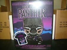 FUNKO POP GITD BLACK PANTHER  WITH XL T-SHIRT TARGET EXCLUSIVE VHTF--