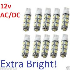 "10-pack LED bulbs ""white"" Replacement T10 T15 Landscape lighting 12v  AC/DC"