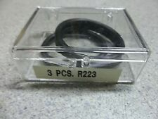 NEW Unbranded Industrial Part, 3-Piece O-Ring Seals R223  *FREE SHIPPING*