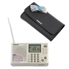 Sangean ATS 404 AMFM Short Wave Synthesized Portable Radio Receiver 45 Station