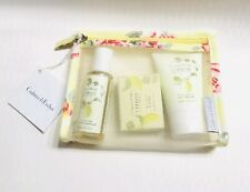 Crabtree & Evelyn Citron Gift Set Lotion Shower Gel Soap Bar New Travel Size