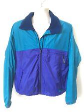 Vintage Patagonia Windbreaker Jacket Mens Size M Lined Colorblock Purple Teal