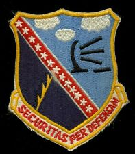 USAF 660th Radar Squadron NORAD Patch S-12