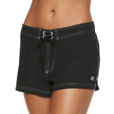 ZeroXposur Woven Swim Board Shorts Black Liquorice Size 10, 14 New Msrp $46.00