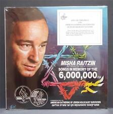 SEALED MISHA RAITZIN Songs In Memory Of The 6,000,000 Jewish Holocaust 40th Ann.