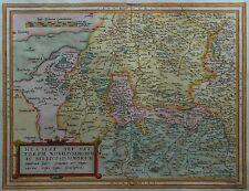 Hessiae Seu Cattorum Nobilissimorum - Hessen von Gerard De Jode -Landkarte 1593