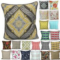 Cushion Covers Cotton Throw Pillow Case Sofa Home Decor Linen Bed Car New 20X20