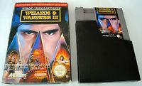 Jeu WIZARDS & WARRIORS III 3 pour Nintendo NES avec boite d'origine