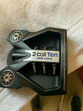 """New listing Odyssey Golf 2Ball Ten Lined Arm Lock Putter - 40""""  Used on carpet once!"""