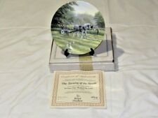 Royal Doulton Ltd. Ed. Collectors Plate The Turning Of The Swath Free UK P&P