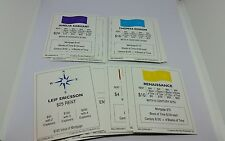 Millenniumopoly Monopoly Replacement 28 Mortgage Property Replacement Cards