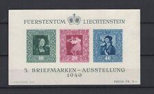 LIECHTENSTEIN 1949, Sc# 255, CV $65, NG