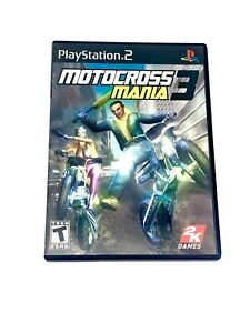 Motorcross Mania 3 Sony Playstation 2 PS2 Video Game Complete With Manual