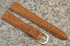 18mm Stylecraft Tan Rancho Leather Watch Band NOS Strap Made in CANADA item #404