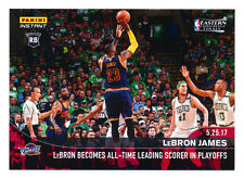 2016-17 PANINI INSTANT #363 LEBRON JAMES ALL-TIME PLAYOFF SCORING CHAMP SP/165!