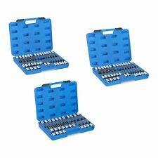 Juego llaves de vaso 3en1 bit set Hex Torx y Xzn 88 piezas longitud Máx 200 mm