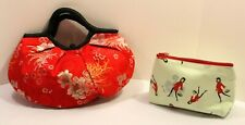 2 Wei East Makeup Bags, Cosmetic Cases, Purse